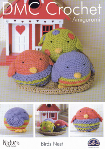 DMC Amigurumi 'Birds Nest'